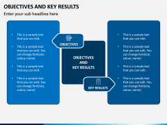 Objectives and Key Results PPT Slide 1