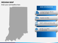 Indiana Map PPT Slide 4