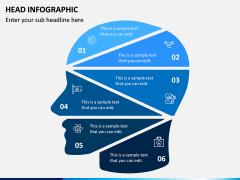 Head Infographics PPT Slide 7