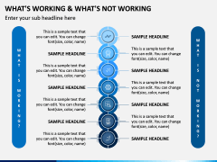 What's Working - What's Not PPT Slide 6
