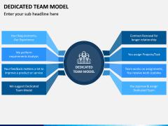 Dedicated Team Model PPT Slide 1