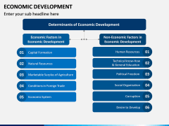 Economic Development PPT Slide 2
