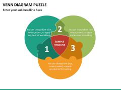 Venn Diagram Puzzle PPT Slide 2