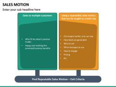 Sales Motion PPT Slide 16