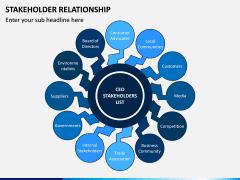 Stakeholder Relationship PPT Slide 9