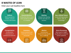 8 Wastes of Lean PPT Slide 4