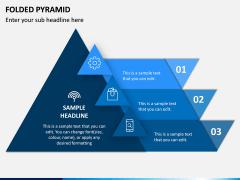 Folded Pyramid PPT Slide 1