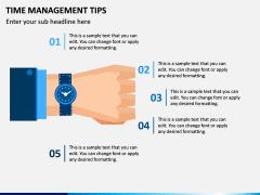 Time Management Tips PPT Slide 5