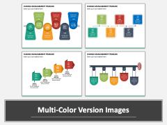 Change Management Timeline PPT Multicolor Combined