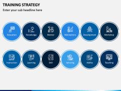 Training Strategy PPT Slide 1