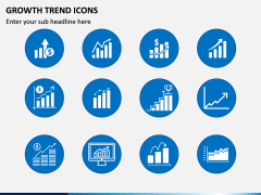 Growth Trend Icons PPT Slide 2