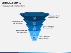 Vertical Funnel PPT Slide 15