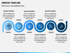 Arrow Timeline PPT Slide 4