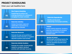 Project Scheduling PPT Slide 1