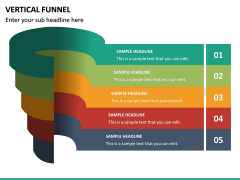 Vertical Funnel PPT Slide 20
