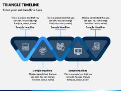 Triangle Timeline PPT Slide 3