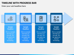 Timeline With Progress Bar PPT Slide 7