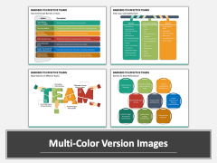 Barriers to Effective Teams Multicolor Combined