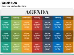 Weekly Plan PPT Slide 4