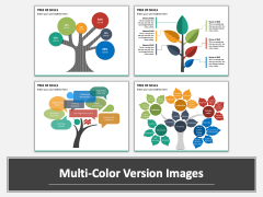 Tree of Skills PPT Multicolor Combined