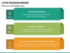 3 Step Decision Making PPT Slide 6