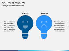 Positive Negative PPT Slide 5
