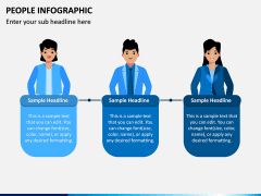 People Infographic PPT Slide 9