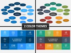 E-commerce Marketing Plan PPT Cover Slide
