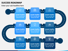 Success Roadmap PPT Slide 2