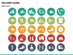 Delivery Icons PPT Slide 3