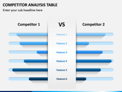 Competitor Analysis Table PPT Slide 7