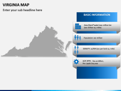 Virginia Map PPT Slide 4