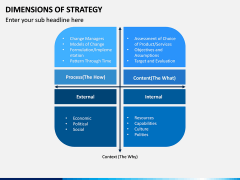 Dimensions of Strategy PPT Slide 8