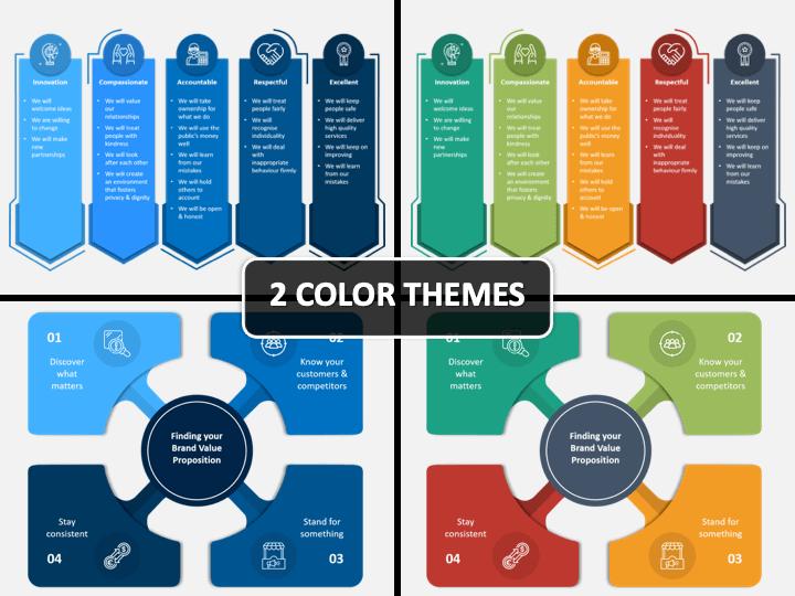 Brand Values PPT Cover Slide