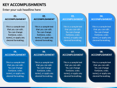 Key Accomplishments PPT Slide 8