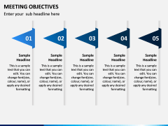 Meeting Objectives PPT Slide 3