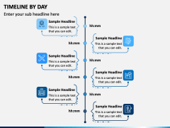 Timeline By Day PPT Slide 3