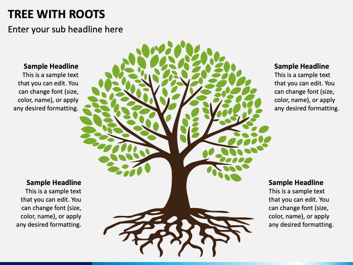 Tree with Roots PPT Slide 1