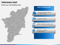 Tamilnadu Map PPT Slide 3
