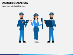 Engineer Characters PPT Slide 2