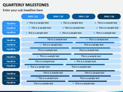 Quarterly Milestone PPT Slide 2