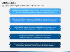 OHSAS 18001 PPT Slide 6