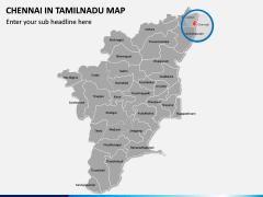 Chennai Map PPT Slide 5