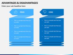 Advantages Disadvantages PPT Slide 2