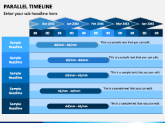 Parallel Timeline PPT Slide 3