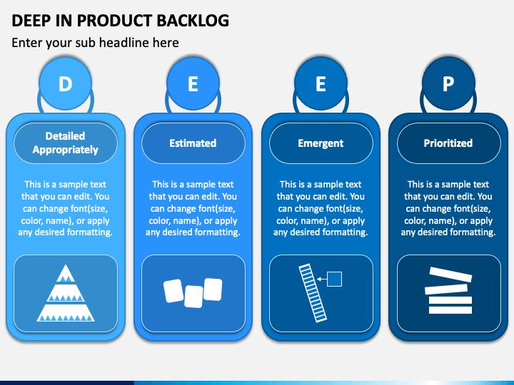Deep In Product Backlog PPT Slide 1