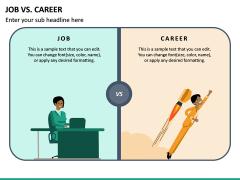 Job Vs Career PPT Slide 4