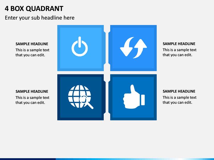 4 Box Quadrant PPT Slide 1