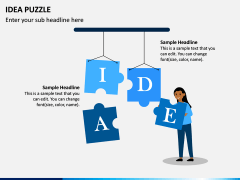 Idea Puzzle PPT Slide 4