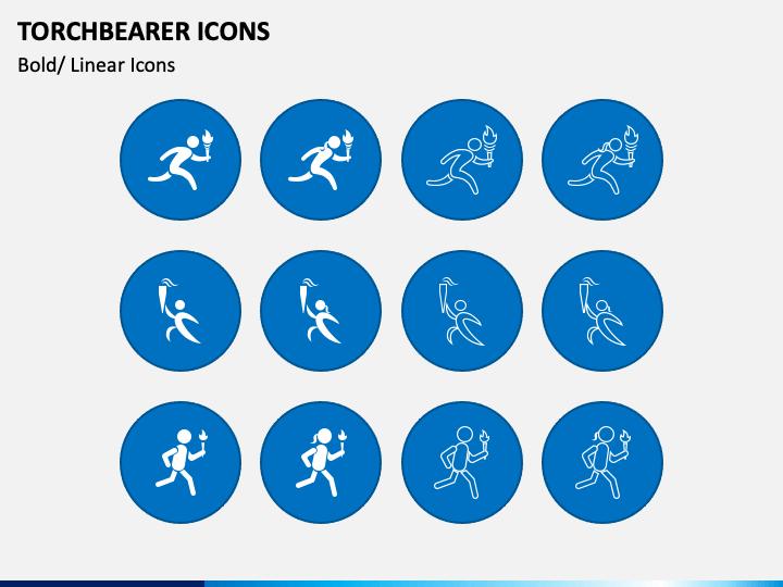 Torchbearer Icons PPT Slide 1